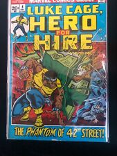Luke Cage, Hero For Hire #4 Key Issue. Marvel