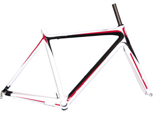 New Full Carbon Road Racing Bicycle Frame 50cm and Fork