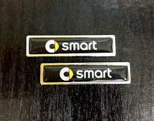 For Smart Fortwo Forfour Door Side Emblem Car Badge 5.8x1.4cm