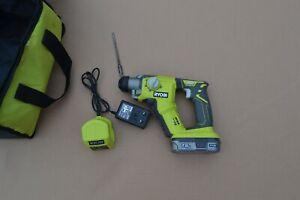 Ryobi R18SDS  ONE 18v Cordless SDS+ Hammer Drill kit (battery , charger , bag)