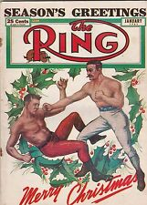 THE RING MAGAZINE BARE KNUCKLE BOXERS COVER JANUARY 1951