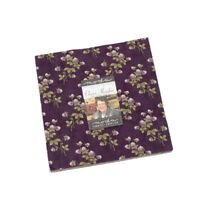 """LAYER CAKE~CLOVER MEADOW~42-10"""" SQUARES~MODA~JAN PATEK QUILTS~2230LC~FLORAL"""