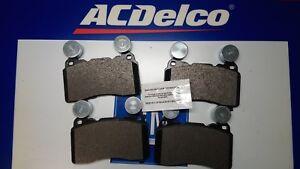 ACDelco Front & rear Disc Brake Pad 2010-2015 Camaro SS Brembo 19336654