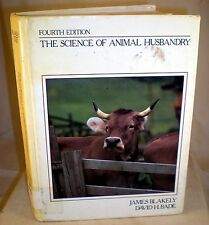 The Science of Animal Husbandry 1985 hardcover, study/textbook, cow horse fowl