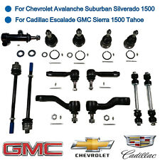 13 Pcs Front Suspension Kits Ball Joint Tie Rod End Sway Bar Pitman & Idler Arm