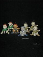+# A008532_12 Goebel Archiv Muster 7er Set Weihnachtsschmuck Wichtel 62-520