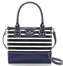 Kate Spade New York Wellesley Stripe Quinn Shoulder Bag New With Tags NWT