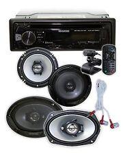 """KENWOOD KDC-BT362 Bluetooth/USB/CD + 2) Kenwood 6.5"""" 2-Way + 2) 6X9 3-Way **"""