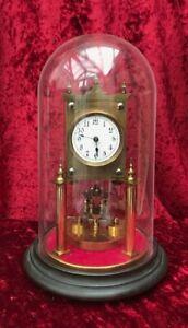 400 DAY TORSION ANNIVERSARY CLOCK circa 1900