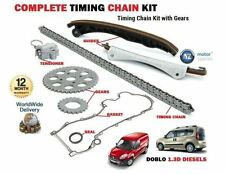 Per FIAT Dobl 1.3D Multijet 16V Multifiamme 2004 - > TIMING CHAIN KIT + ATTREZZI + FLANGIA