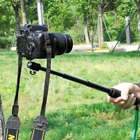 Selfie Pole Extendable Monopod Stick Handheld f. GoPro Hero 4 3+ 3 2 DSLR Camera