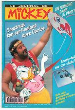 LE JOURNAL DE MICKEY n°2040 ¤ 1991 ¤ CARLOS / SKATE BOARD