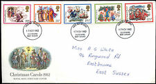 GB FDC 1982 Christmas, Eastbourne FDI #C39591