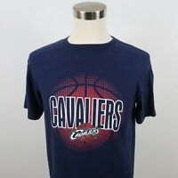 NBA Brand Cleveland Cavaliers Mens SS Crew Neck Navy Blue T Shirt Medium