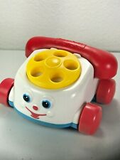 VINTAGE McDonald's Fisher-Price Mini Chatty Rotary Phone Happy Meal Toys