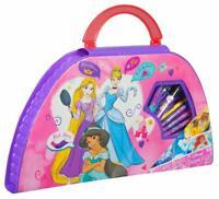 Disney Princess Carry Along Travel Art Case Set Painting Kids Childrens Toy