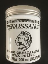 Renaissance Wax 7 oz / 200ml LARGE SIZE TIN - PRESERVE YOUR ARTIFACTS
