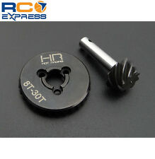 Hot Racing Axial SCX10 II 2 Heavy Duty Steel 30T/8T Bevel Gear Set SCXT9308