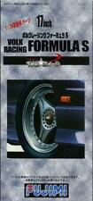 Fujimi Models 1/24 17inch Volk Racing Formula S Wheels & Tyres(4 Wheels w/Tyres)