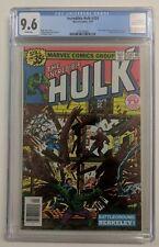Incredible Hulk 234 CGC 9.6  Marvel man becomes Quasar (1st app)