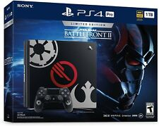 PlayStation 4 Slim 1TB Limited Edition Console Star Wars Battlefront 2 NEW PS4