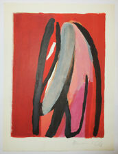 Bram VAN VELDE [Composition 1]. 1980. Lithographie originale SIGNEE