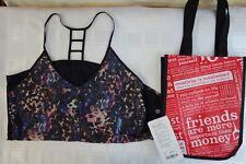 NWT Lululemon Breezy Singlet - floral sport black multi/black - Size 8 - $58.00