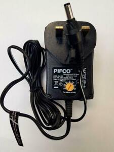 Roberts Duologic PU42 7.5v 1500Mah Black Mains Supply Power Adaptor DAB Radio UK