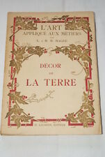 DECOR DE LA TERRE ART APPLIQUE AUX METIERS MAGNE GRAVURES 1927