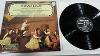 Franz Liszt Präludien Mazeppa Rhapsodien LP Vinyl VG + Spanisch Ed Philips