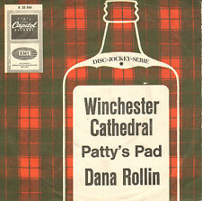 "DANA ROLLIN - Winchester Cathedral (1967 VINYL SINGLE 7"" GERMAN PS)"