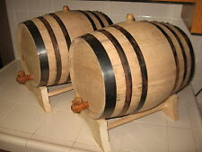 OAK BARRELS (TWO) 20 LITER FOR WHISKEY OR SPIRITS