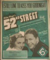 I Still Love to Kiss you Goodnight Sheet music for Piano & Voice 1937