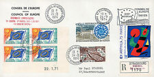 "Registered FDC Council Europe ""Cyprus Crisis / 25 years Council Europe"" 09-1974"