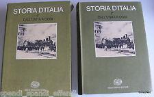 STORIA D'ITALIA DALL'UNITÀ A OGGI VOL. 4*.1 LA STORIA ECONOMICA EINAUDI 1975