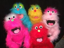 """1 CUSTOM 20"""" blacklight MONSTER or DOG PUPPET~you choose color~pro vent muppet"""