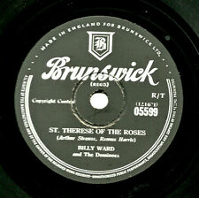 JACKIE WILSON /BILLY WARD & THE DOMINOES 78 ST. THERESE OF THE ROSES BR. 05599 E