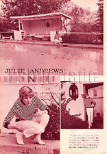 1966, Julie Andrews  Japan Vintage Clippings 4et8