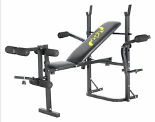 HOT🔥Opti Butterfly Workout Bench wth Leg Curl & Chest Fly Attachments FREE P&P✅