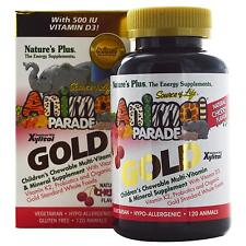 Children's Chewable Multi-Vitamin & Mineral Supplement - 120 Cherry Animals