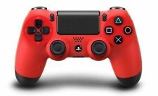 Sony PlayStation 4 Red Controllers and Attachments