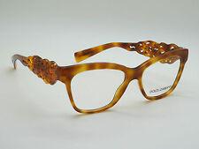 NEW Authentic Dolce & Gabbana D&G DG 3236 512 Light Havana 54mm Eyeglasses