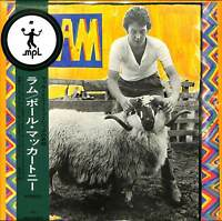 PAUL MCCARTNEY-RAM-IMPORT LP WITH JAPAN OBI Ltd/Ed J50