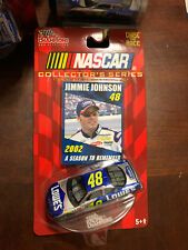2002 Jimmie Johnson Lowes Rookie Season To Remember car 1:64 Rc Racing Champions