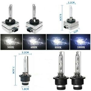 2x D1S D2S 35W HID Xenon Headlight Light OEM Replacement Bulb 6000K 8000K