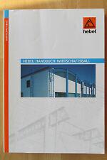 Hebel Handbuch Wirtschaftsbau Bausysteme  Dach Decken Platten Feuerschutztüren