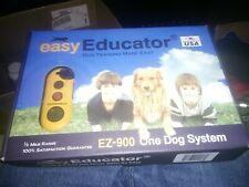 New listing E-Collar Easy Educator Dog Training Collar 1/2 Mile Range Ez-900