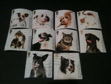 Cats Used Great Britain Stamps
