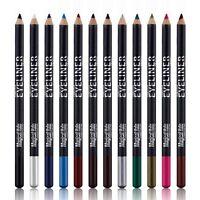 12pcs Lot Set 12 Colors Professional Eyeliner Makeup Waterproof Eye Liner Pencil