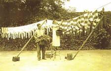 Postcard Nostalgia 1935 Tottenham Hotspur Washing Day Spurs Reproduction Card